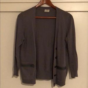 Gray Madewell Wallace cardigan - M